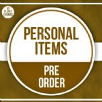 14th July  Signing - Personal Items - Pre Order